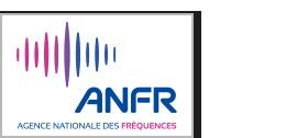 Exposition du public aux ondes radioélectriques - L'étude annuelle de l'ANFR portant sur plus de 3 000 mesures montre que les niveaux mesurés restent globalement faibles