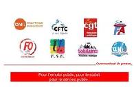 Amélioration des carrières de tous les agents publics - L'ensemble des organisations syndicales représentatives de la fonction publique demandent l'ouverture sans délai d'une négociation