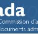 Doc - Rapport annuel de la Commission d'accès aux documents administratifs (CADA)