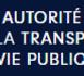 Doc - Transparence de la vie publique - Si les avancées sont incontestables, des évolutions apparaissent encore nécessaires (rapport HATVP)